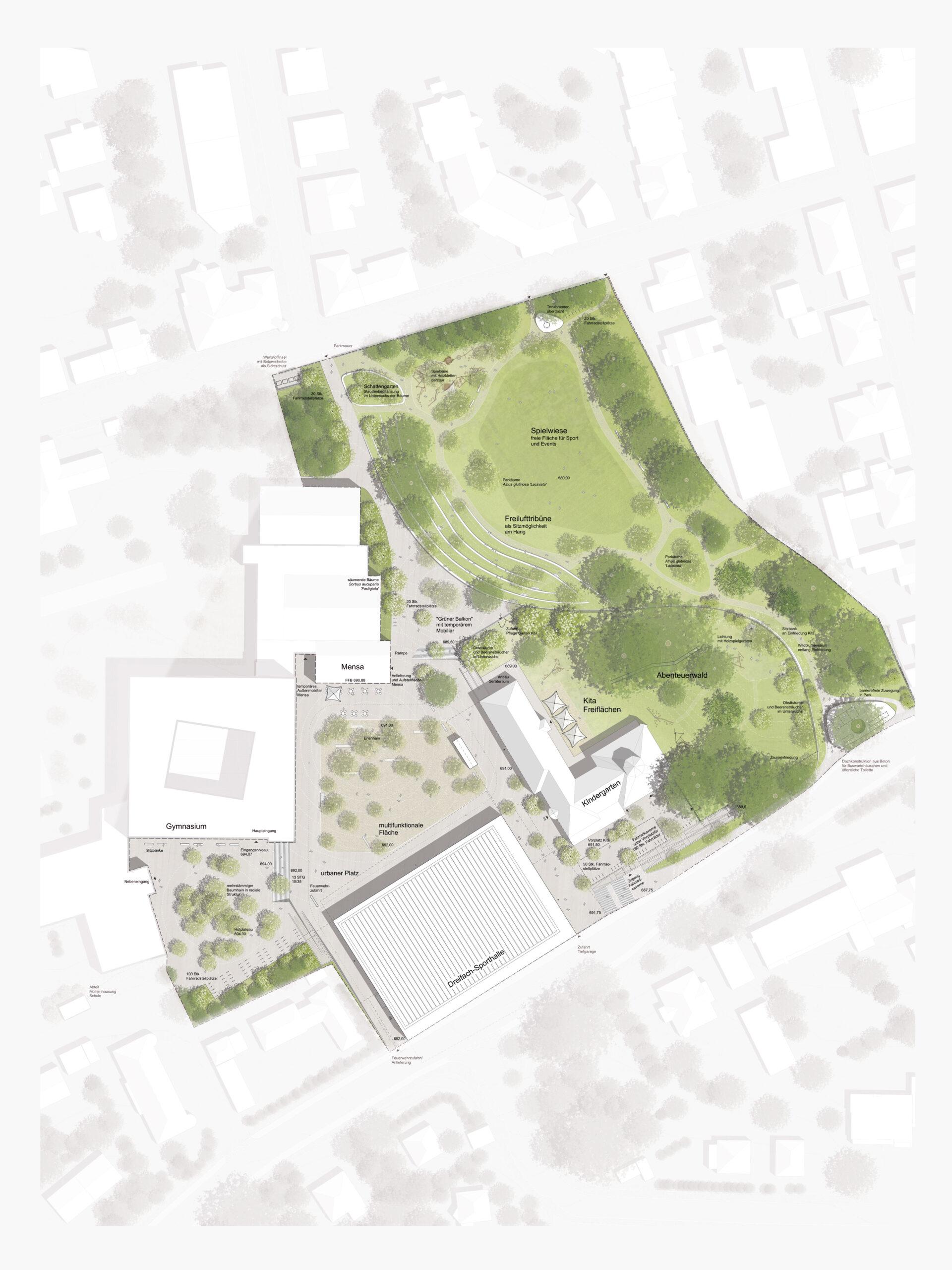 Michael-Becker-Architects-Architekten-3-fach-Turnhalle-Kempten-Rahmenplan
