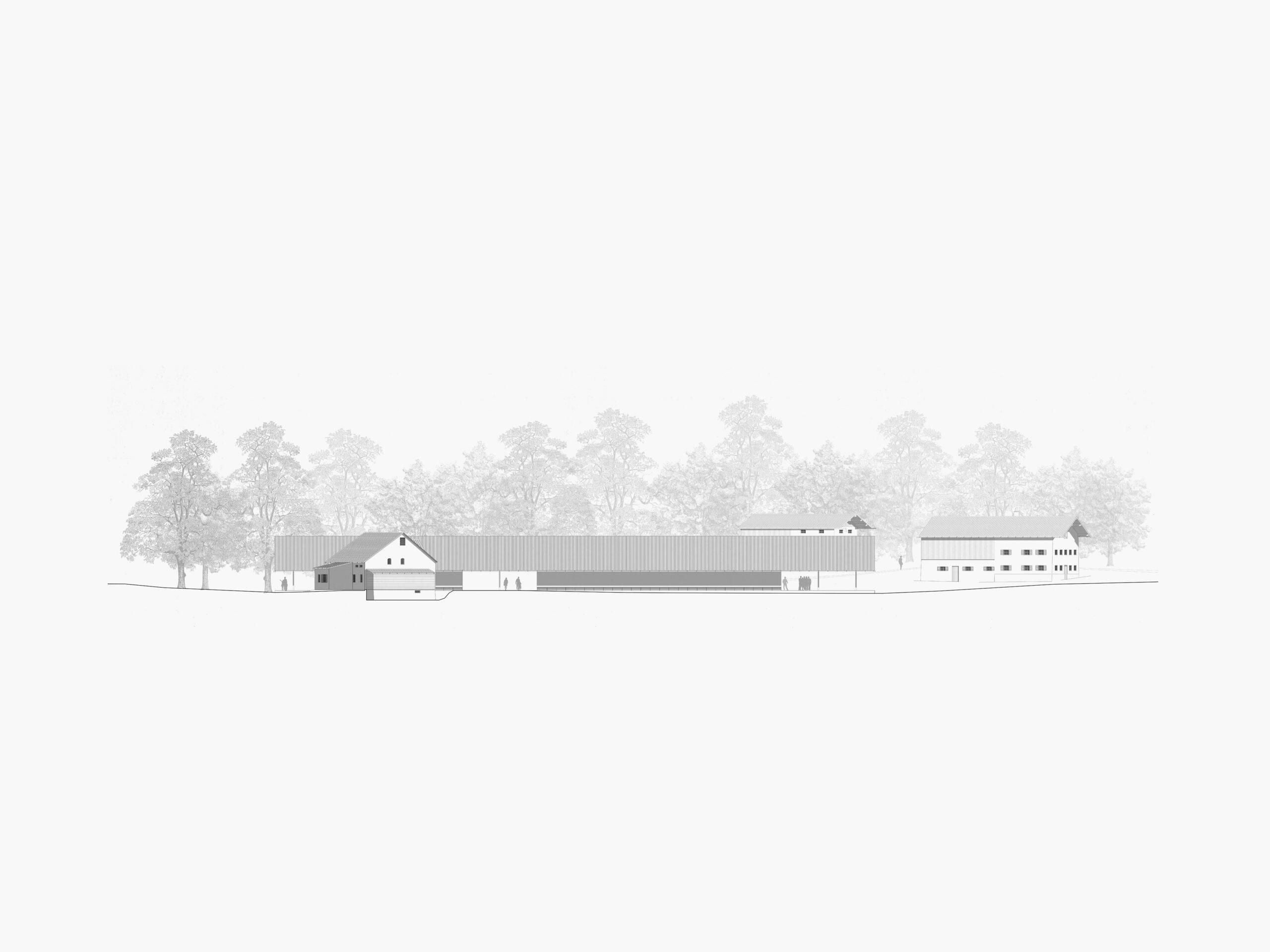 Michael-Becker-Architects-Architekten-Bauernhausmuseum-Ammerang-Ansicht-Sued