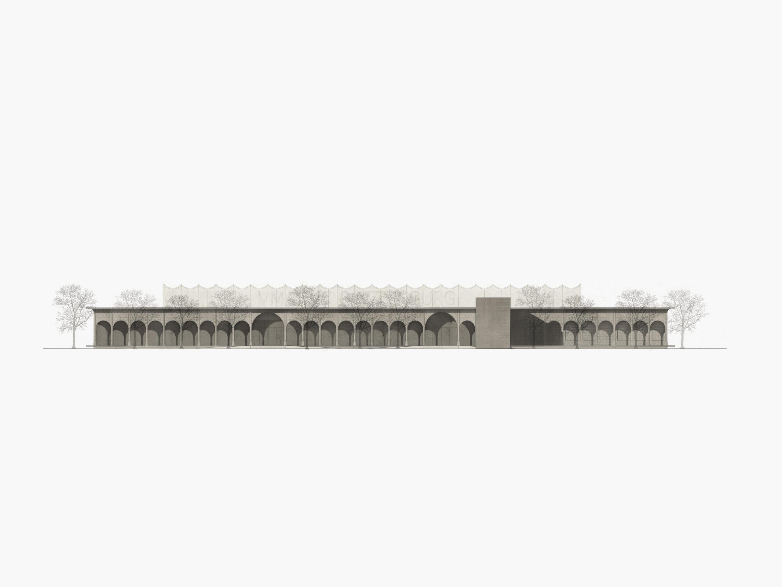 Michael-Becker-Architects-Architekten-Verbrauchermarkt-Rottenburg-Ansicht-Ost
