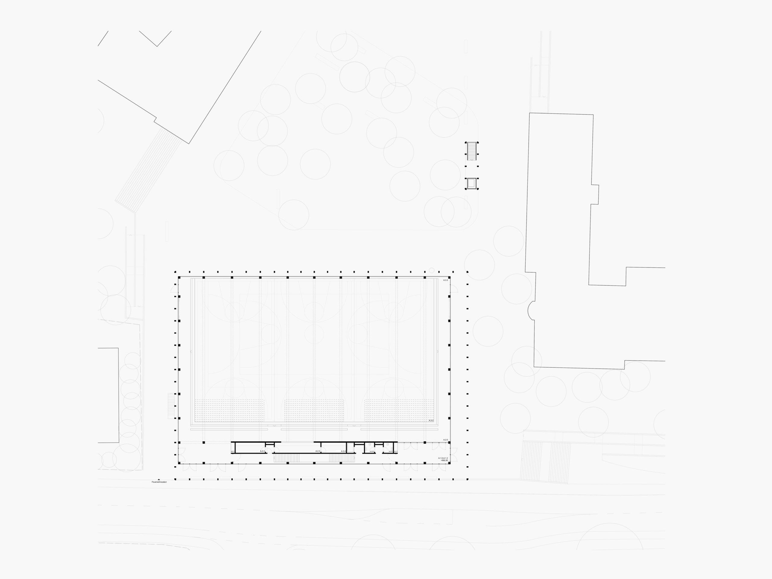 Michael-Becker-Architects-Architekten-3-fach-Turnhalle-Kempten-Grundriss-EG