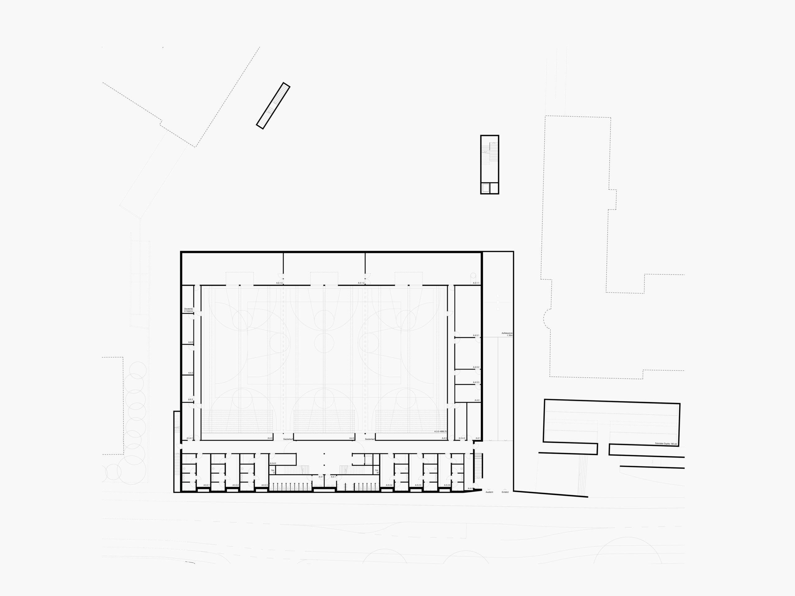 Michael-Becker-Architects-Architekten-3-fach-Turnhalle-Kempten-Grundriss-KG