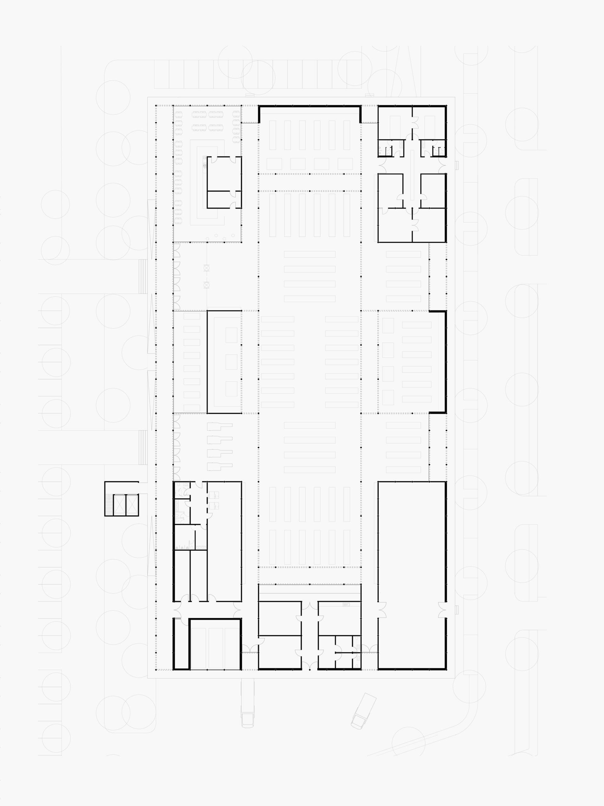 Michael-Becker-Architects-Architekten-Verbrauchermarkt-Rottenburg-Grundriss-EG